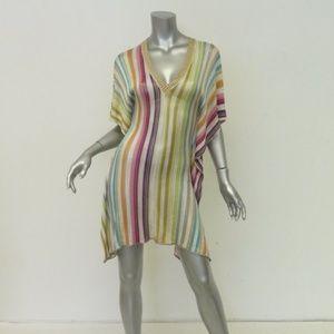 Missoni Mare Cover-Up Dress Multicolor Knit
